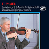Hummel: Works for Violin & Piano on Original Instruments by Richard Burnett
