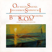 Olly Wilson/John Harbison: Sinfonia/Symphony No. 1 by Boston Symphony Orchestra