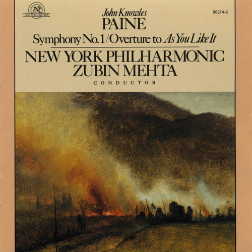 John Knowles Paine: Symphony No. 1 by New York Philharmonic