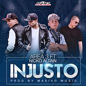 Injusto (feat. Nicko Altain) by Area 3