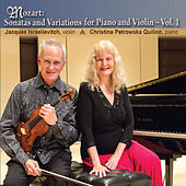 Mozart: Sonatas & Variations for Piano & Violin, Vol. 1 by Jacques Israelievitch