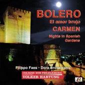 Ravel: Boléro, M. 81 - De Falla: El amor brujo & Noches en los jardines de España - Bizet: Carmen Suite No. 1 by Volker Hartung