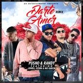 Darte Amor (Remix) [feat. Ozuna, Jowell & Nio Garcia] by Pusho