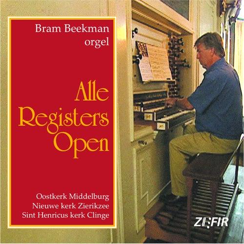 Alle Registers Open by Bram Beekman