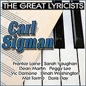 The Great Lyricists - Carl Sigman von Various Artists