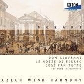 Don Goivanni, Le nozze di Flgaro, Cosi fan Tutte (For Wind Instruments) by Czech Wind Harmony