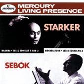 Brahms / Mendelssohn: Cello Sonatas by János Starker