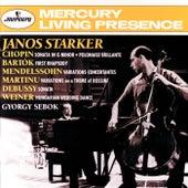 Bartók / Chopin / Debussy / Mendelssohn: Cello Sonatas &c by János Starker