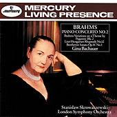 Brahms: Piano Concerto No. 2 / Beethoven: Piano Sonata No.9 by Gina Bachauer