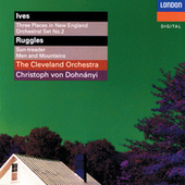 Ives: 3 Places In New England; Orchestral Set No. 2 - Ruggles: Sun-Treader; Men And Mountains - Crawford: Andante by Various Artists