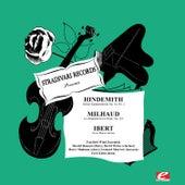 Hindemith: Kleine Kammermuski, Op. 24, No. 2 - Ibert: Trois Pièces Brèves - Milhaud: La Cheminée Du Roi René, Op. 205 (Digitally Remastered) by Fairfield Wind Ensemble