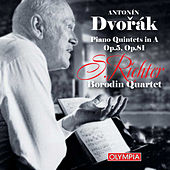 Dvořák: Piano Quintets Nos.1 & 2 by Sviatoslav Richter