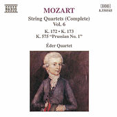 String Quartets (Complete) Vol. 6 by Wolfgang Amadeus Mozart