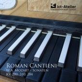 Mozart: Piano Sonaten KV 280, 310, 284 by Roman Cantieni