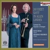 BACH, J.S.: Jauchzet Gott in allen Landen! / ZELENKA, J.D.: Psalm 112 (Cantatas for Soprano and Trumpet) (Ziesak, R. Friedrich) by Various Artists