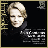Bach: Solo Cantatas, BWV 35, 169, 170 by Various Artists