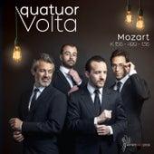 Mozart: KV.156, KV.499, KV.136 by Quatuor Volta