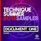 Klaxon (Technique Summer 2016 Sampler) by Document One