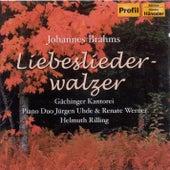 BRAHMS: Liebeslieder Waltzes Op. 52 / Neue Liebeslieder Waltzes Op. 65 by Helmuth Rilling