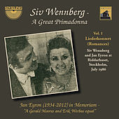 Siv Wennberg: A Great Primadonna, Vol. 1 by Jan Eyron