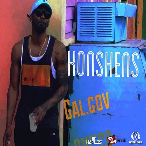 Gal.Gov - Single by Konshens