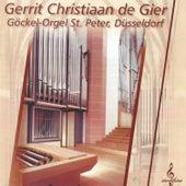 Gerrit Christiaan de Gier bespeelt het Göckel-Orgel St. Peter by Gerrit Christiaan de Gier