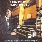 John Propitius Improviseert op het orgel van de Bovenkerk te Kampen by John Propitius