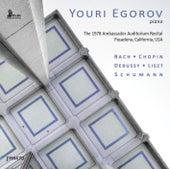 Bach, Chopin, Debussy, Liszt & Schumann: Piano Works (Live) by Youri Egorov