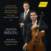 Haydn, Cassado & C.P.E. Bach: Cello Concertos by Valentin Radutiu