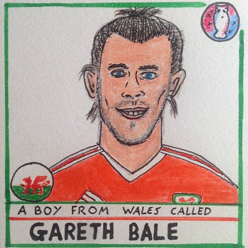 A Boy from Wales Called Gareth Bale by Helen Love