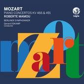 Mozart: Piano Concertos K. 466 & 491 by Gerard Oskamp