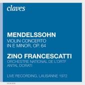 Francescatti : Mendelssohn by Zino Francescatti