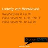 Orange Edition - Beethoven: Symphony No. 8, Op. 93 & Piano Sonatas Nos. 1, 12 by Various Artists
