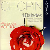 Frédéric Chopin: 4 Ballades Fantaisie, Barcarolle, 4 Mazurkas Op. 30 by Frederic Chopin