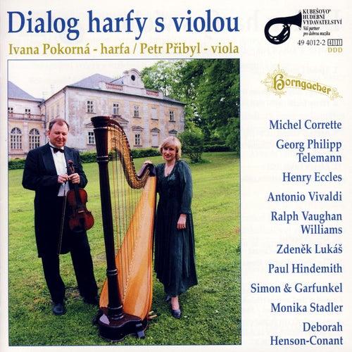Dialog harfy z violou by Ivana Pokorná