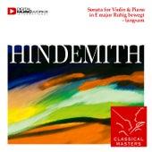 Sonata for Violin & Piano in Emajor Ruhig bewegt - langsam by Annelies Ninen - Zsygmondi