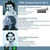 20th Century Voices, Vol. 1 by Various Artists