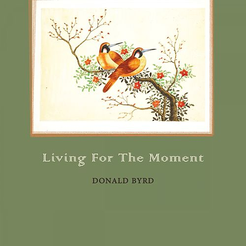 Living For The Moment von Donald Byrd