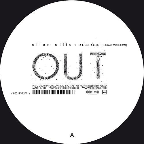 Out Remixes by Ellen Allien