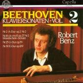 Ludwig van Beethoven: Klaviersonaten Vol. 2 by Robert Benz