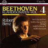 Ludwig van Beethoven: Klaviersonaten Vol. 4 by Robert Benz