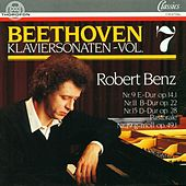 Ludwig van Beethoven: Klaviersonaten Vol. 7 by Robert Benz