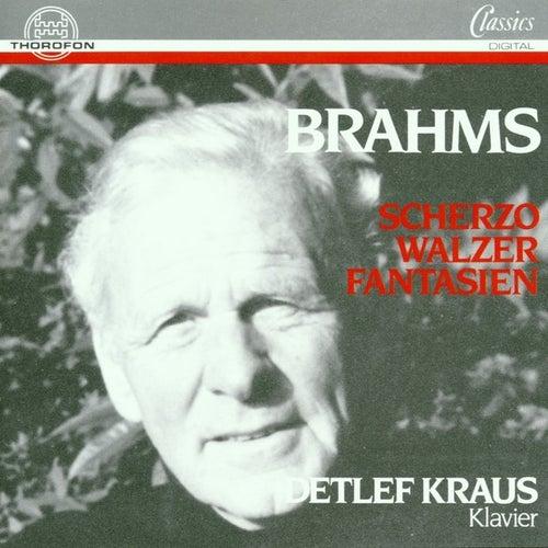 Johannes Brahms: Scherzo, Walzer, Fantasien von <b>Detlef Kraus</b> - 500x500
