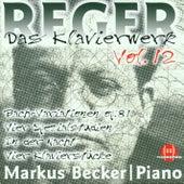 Max Reger: Das Klavierwerk Vol. 12 by Markus Becker