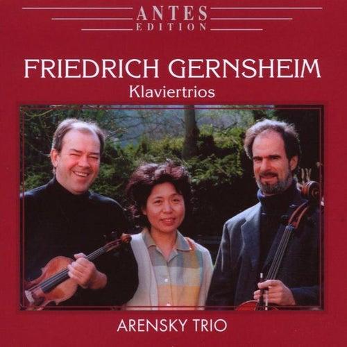 Friedrich Gernsheim: Klaviertrios by Arensky Trio