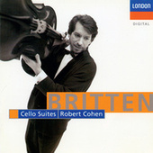 Britten: Cello Suites by Robert Cohen