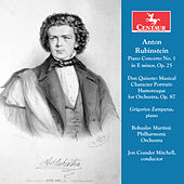 Rubinstein: Piano Concerto No. 1 in E Minor, Op. 25 & Don Quixote, Op. 87 by Various Artists
