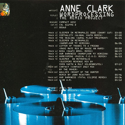 Wordprocessing (The Remix Project) by Anne Clark