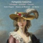 Schobert, Schröter & Dussek: Fortepiano Concertos by Jed Wentz
