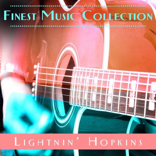 Finest Music Collection: Lightnin' Hopkins by Lightnin' Hopkins